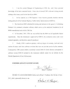 Intoxilyzer 8000 Charlotte County FL Affidavit Brian Faulkner