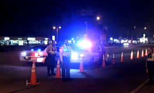 Pinellas County DUI Checkpoint Roadblock