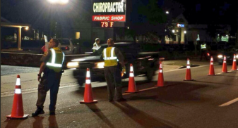 Tampa Police Department Picture of Checkpoint